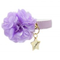 Collar Flower Lila