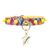 Collar Rainbow Punk